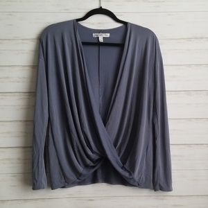 Abercrombie and Fitch Draped Twist Top